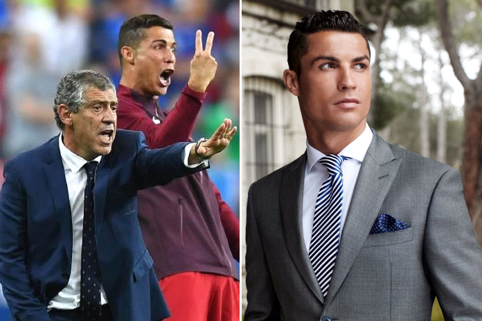 Cristiano Ronaldo's coaching skills cannot be denied but he is also fly for the fashion world.