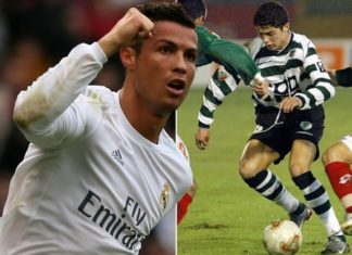 Cristiano Ronaldo's 350th appearance for Real Madrid came against ex-club, Sporting CP.