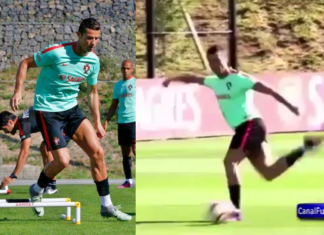 Cristiano Ronaldo's return to Portugal's training camp is a joyful one!