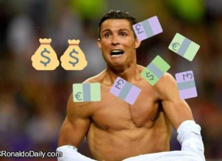 Ronaldo's wages are astronomical