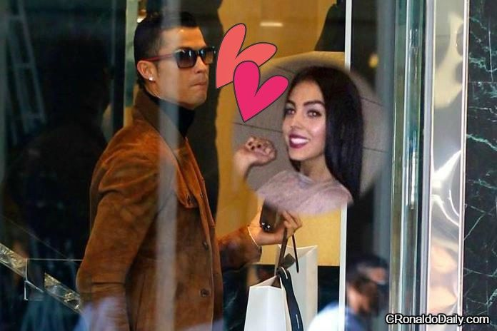 Ronaldo shops on Vals Day for girlfriend Georgina Rodriguez.