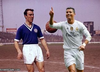 Ronaldo is a hat-trick away from matching Jimmy Greaves' record as the topscorer in Europe's Top 6 leagues.