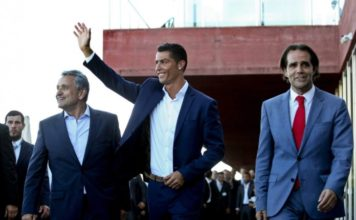 miguel and ronaldo at pestana hotel launch