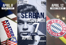 "The first of its kind on the internet, the Youtube series entitled ""Serban talks Ronaldo"" is set to premiere on Monday, April 10, 2017. Featuring Cristiano Ronaldo vlogger, Adrian Serban from Cluj, Romania."