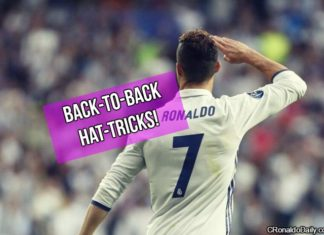 Ronaldo scores hattrick against Atletico in Champions League