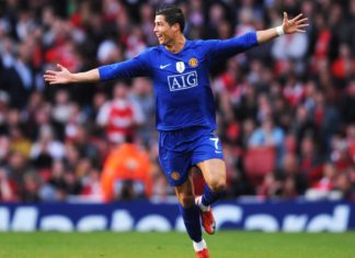 Ronaldo scores screamer vs Arsenal in UCL semis