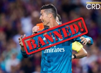 Cristiano Ronaldo slapped with 5-match ban after El Clasico incident