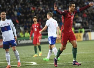 Watch Cristiano Ronaldo live in Portugal vs Faroe Island on August 31