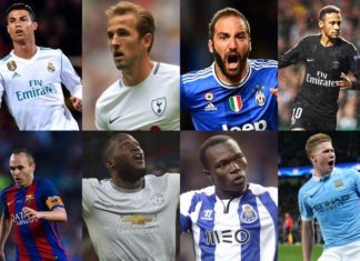 UEFA Champions League POTW nominees for matchday 2