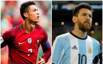 Ronaldo and Messi's photo joint