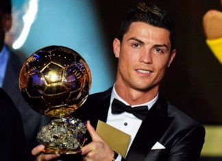 Cristiano Ronaldo wins Ballon D'or