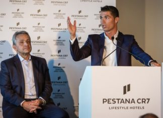 Pestana CR7 Lifetyle Hotel, Marrakech, Morocco.
