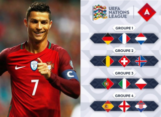 Portugal seeded against Italy and Poland in Group 3 of League A in the UEFA Nations League