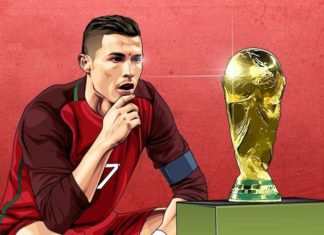Ronaldo eyes FIFA World Cup trophy