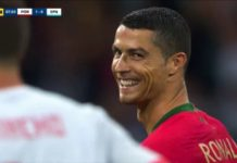And La Furia Roja was the Portuguese icon's victim. Cristiano Ronaldo is the third Portuguese footballer to net a goal against Spain at European Championship of World Cup level. He follows the likes of Nuno Gomes at Euro 2004 and Antonio de Sousa at Euro 1984.  On Friday night in Sochi, Madeira's most popular and influential man stretched his unique achievement of scoring in consecutive major international tournaments to nine. It took him only four minutes to do so from the spot after the referee judged he'd been fouled in the penalty box. So what are these eight previous competitions in which CR7 has engraved his name as a goalscorer? and how many strikes did he get in each of those? Let's take you down the memory lane. Since 2006: Never a World Cup without a Ronaldo goal Cristiano Ronaldo is playing in his fourth World Cup and he's scored at least one goal in each of them. The first time he did so was against Iran in Germany 2006. Figo was the Portuguese national team's penalty taker, back then. However, he assigned his future successor. The latter made no mistake. And when he was done, the emotion he felt was so intense that he fell on his knees and screamed his joy to the sky with tears in his eyes. In the quarter-finals against England, Ronaldo took the decisive spot-kick to send England packing; but goals in penalty shoot-outs are not recorded in scoring charts.  In South Africa 2010, CR7 knocked in Portugal's sixth goal from their 7-0 trouncing of North Korea in the group stages. The Iberians, unfortunately, exited the tournament in the Last 16.  At the 2014 FIFA World Cup in Brazil, the Euro 2004 hosts suffered a worse journey as they went home after only three matches. The last of those saw Cristiano net the winning goal in a consolation victory over Ghana.  In total, Ronaldo entered Russia 2018 with three goals in three World Cup experiences. Remarkably, by half-time in the opening match, he had already matched two-thirds of his World Cup career tally. Four straight European Championship appearances, nine goals This achievement adds up to the 33-year-old's excellent goalscoring record at the continental level. In the European Championship where he boasts a trophy, Ronaldo has done wonders since the age of 19. He scored twice in his major international tournament debut (one against Greece and one against the Netherlands) as Portugal hosted Euro 2004. He went on to score a solitary goal against the Czech Republic at Euro 2008 -- a tournament which was tainted by his unfortunate leg injury and increasing fatigue following a long season with ex-club Manchester United.  In Euro 2012, Ronaldo finished the tournament tied on three goals alongside fellow topscorers Italy's Mario Balotelli, Russia's Alan Dzagoev, Germany's Mario Gomez, Croatia's Mario Mandzukic and eventual champion Fernando Torres. Two of CR7's trio of goals came against the Netherlands in a do-or-die Matchday 3 fixture. The final one came in the quarter-finals against the Czechs. The 1-0 score line was enough to send the Seleccao into the semi-finals where he did not even had the chance to execute his spotkick as Portugal lost in penalties to the Spaniards.  Four years later, the best captain in the world provided the necessary means to send his country into the final of Euro 2016 where they beat hosts France to lay their hands on the trophy. Again, his tally stopped at three goals: a life-saving brace against Hungary to qualify from the group stages, and a powerful strike to down Wales in the semis. He will be remembered for offering his Silver Boot to then vice-captain Nani.  The FIFA Confederations Cup made it eight! After making it four consecutive UEFA European Championships in which he put his name on the scoring sheet, Cristiano did the same at his first ever FIFA Confederations Cup participation. He extended his record to eight consecutive competitions against hosts Russia before adding one more goal against minnows New Zealand.  Cristiano Ronaldo simply gets better with age, it seems!