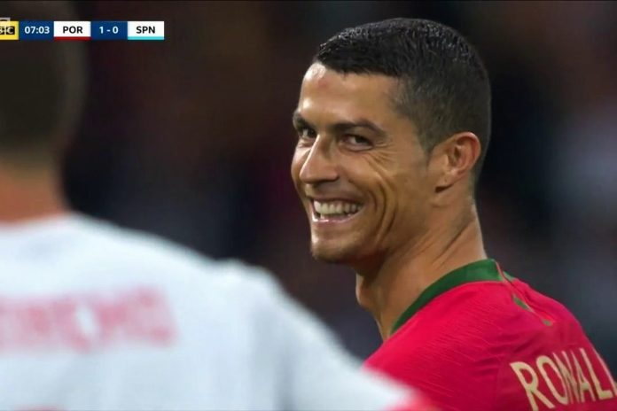 And La Furia Roja was the Portuguese icon's victim. Cristiano Ronaldo is the third Portuguese footballer to net a goal against Spain at European Championship of World Cup level. He follows the likes of Nuno Gomes at Euro 2004 and Antonio de Sousa at Euro 1984. On Friday night in Sochi, Madeira's most popular and influential man stretched his unique achievement of scoring in consecutive major international tournaments to nine. It took him only four minutes to do so from the spot after the referee judged he'd been fouled in the penalty box. So what are these eight previous competitions in which CR7 has engraved his name as a goalscorer? and how many strikes did he get in each of those? Let's take you down the memory lane. Since 2006: Never a World Cup without a Ronaldo goal Cristiano Ronaldo is playing in his fourth World Cup and he's scored at least one goal in each of them. The first time he did so was against Iran in Germany 2006. Figo was the Portuguese national team's penalty taker, back then. However, he assigned his future successor. The latter made no mistake. And when he was done, the emotion he felt was so intense that he fell on his knees and screamed his joy to the sky with tears in his eyes. In the quarter-finals against England, Ronaldo took the decisive spot-kick to send England packing; but goals in penalty shoot-outs are not recorded in scoring charts. In South Africa 2010, CR7 knocked in Portugal's sixth goal from their 7-0 trouncing of North Korea in the group stages. The Iberians, unfortunately, exited the tournament in the Last 16. At the 2014 FIFA World Cup in Brazil, the Euro 2004 hosts suffered a worse journey as they went home after only three matches. The last of those saw Cristiano net the winning goal in a consolation victory over Ghana. In total, Ronaldo entered Russia 2018 with three goals in three World Cup experiences. Remarkably, by half-time in the opening match, he had already matched two-thirds of his World Cup career tally. Four st