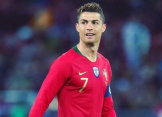 Ronaldo, Portugal 2018 World Cup jersey