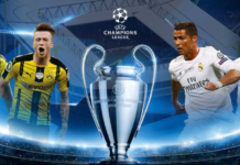 Time, date, official broadcast listings (TV, Streaming) to watch Ronaldo live in BVB vs Real Madrid on Sep 27, 2016.