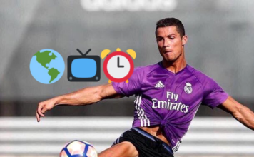 Time, date, official broadcast listings (TV, Streaming) to watch Ronaldo live in Real Madrid vs Osasuna on September 10, 2016.