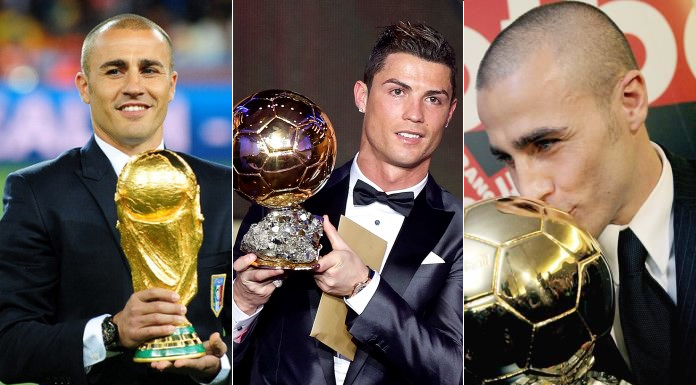 World Cup legend and former Ballon d'Or winner Fabio Cannavaro has endorsed Cristiano Ronaldo for the 2016 Ballon d'Or award.