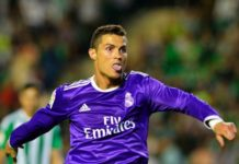 For goal poacher Cristiano Ronaldo, happiness is finding back your scoring boots!