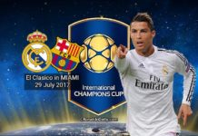 Will Cristiano Ronaldo play in El Clasico in Miami on July 29, 2017? Real Madrid vs Barcelona International Champions Cup pre-season friendly match.