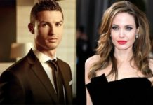 Cristiano Ronaldo and Angelina Jolie acting.