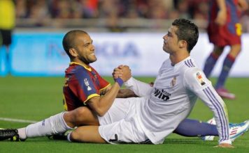 Ronaldo and Dani Alves