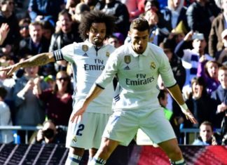 CR7 and Marcelo bromance