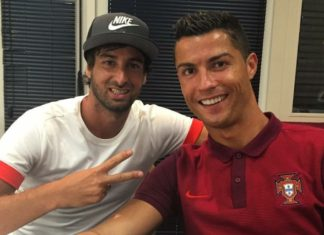 CR7 and miguel