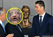 Fans laugh at Ronaldo's bust on Twitter