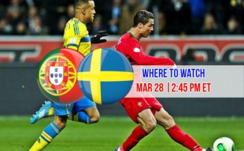 Portugal vs Sweden friendly match