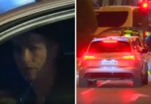Ronaldo drives through red light