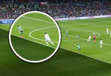 Ronaldo's goal disallowed. Ruled offside