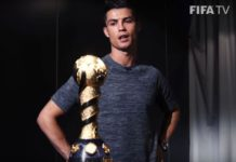 Ronaldo refuses to touch Confederations Cup