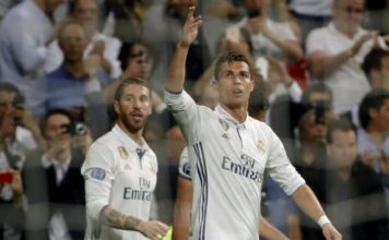 Cristiano Ronaldo is Real Madrid's all-time goalscorer at the Bernabeu