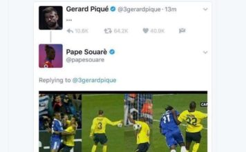 Pique trolled for Twitter post