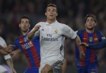 Cristiano Ronaldo against Barcelona