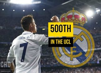 Cristiano Ronaldo to score Real Madrid's 500th in the UCL?