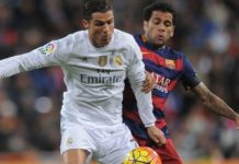 Battle on the wings: Cristiano Ronaldo vs Dani Alves. UEFA Champions League final