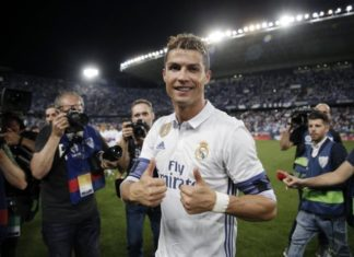 Ronaldo wins second La Liga with Real Madrid