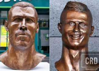 Ronaldo's bust sculptor makes one for Bale - REACTIONS