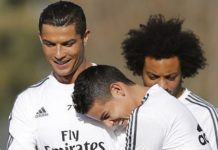 Ronaldo trolls James Rodgriguez on Instagram