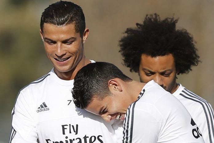 Ronaldo Trolls James New Haircut