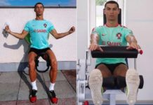 Cristiano Ronaldo meditation in training for Portugal in Russia ahead of the match vs Chile