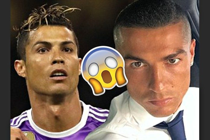 Ronaldo new haircut