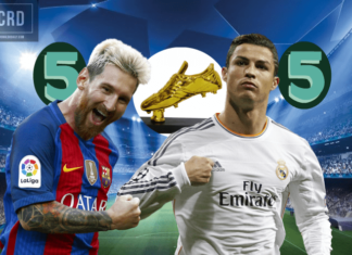 Messi vs Ronaldo vying for 6th UEFA Champions League golden boot