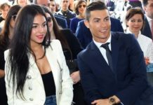 Ronaldo and Georgina Rodriguez