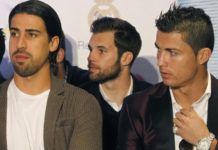 What happened when Sami Khedira first met Cristiano Ronaldo