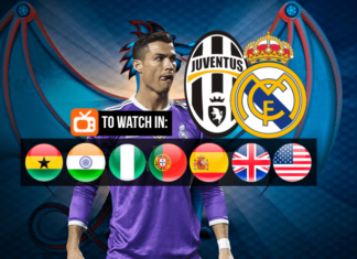 Watch Cristiano Ronaldo live in Juventus vs Real Madrid on June 3